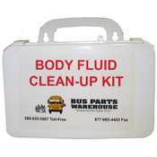 White Bus First Aid and Body Fluid Kits